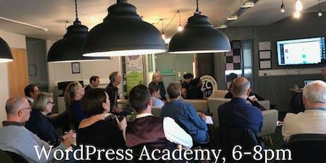 WordPress Academy tickets