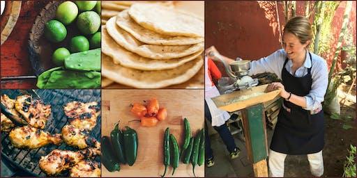 Oaxacan Feast with Red Mole, with Kathleen Hallinan Mueller of Salsita