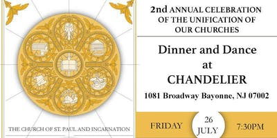 The Church of St. Paul and Incarnation:  2nd Annual Fundraiser Celebration