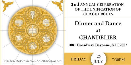 The Church of St. Paul and Incarnation:  2nd Annual Fundraiser Celebration tickets
