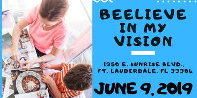 2nd Annual Beelieve in My Vision Family Dream Board Party