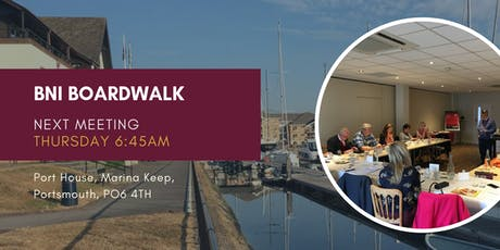 BNI Boardwalk (Portsmouth) Business Breakfast Networking  tickets