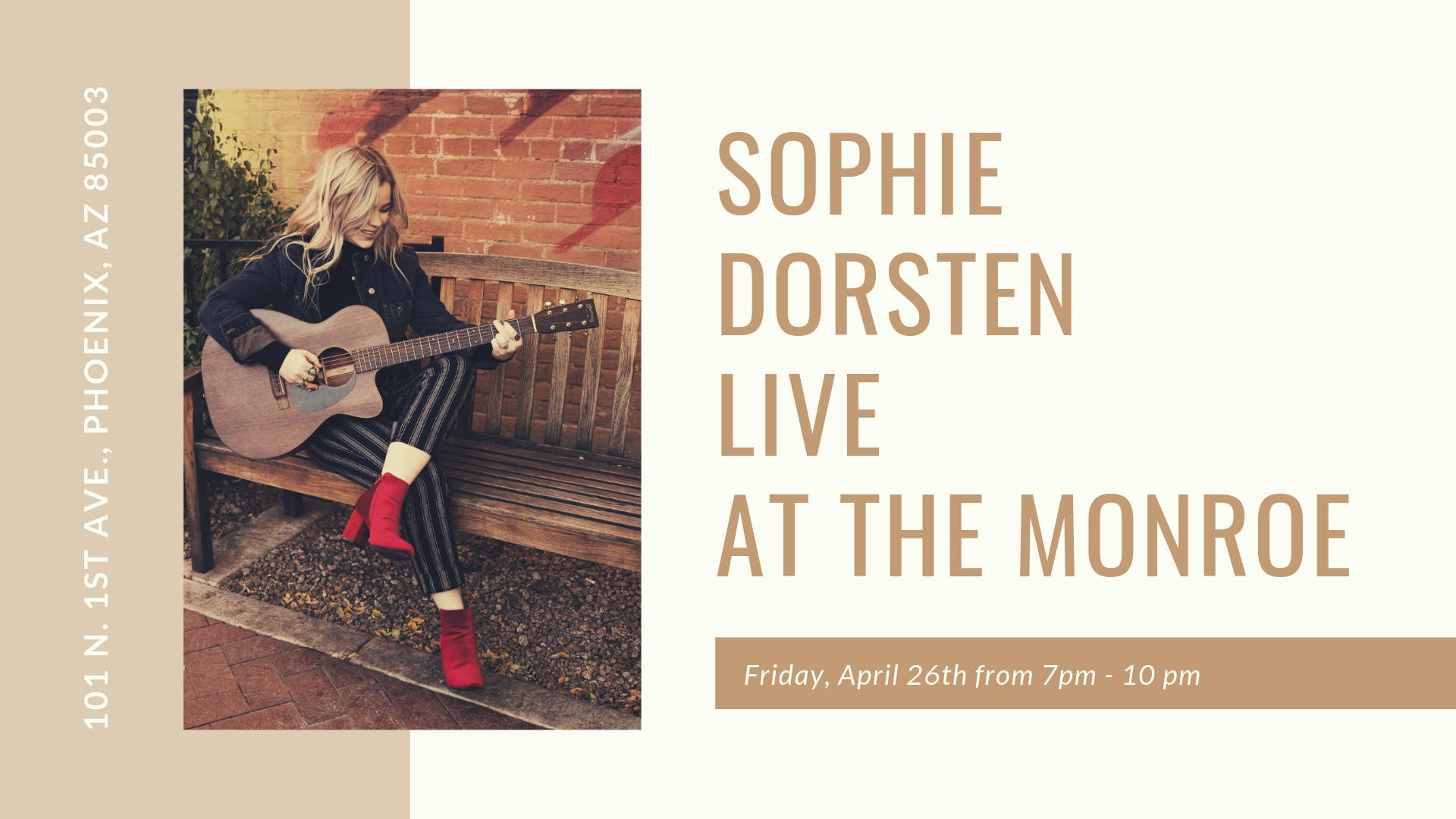 Sophie Dorsten Live at The Monroe