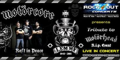 Motörcore - Motörhead Tribute - R.I.P. Event for Lemmy & Motörhead
