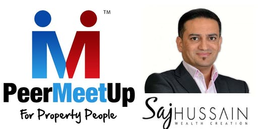 Saj Hussain's Peer Meet Up for Property People in Birmingham | 16 July