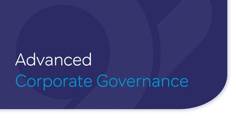 Advanced Corporate Governance tickets