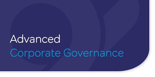 Advanced Corporate Governance