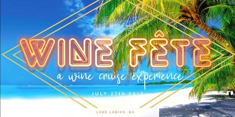 Wine Fête - Wine Tasting Experience tickets