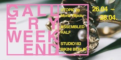 Gallery Weekend at STUDIO183 Bikini Berlin