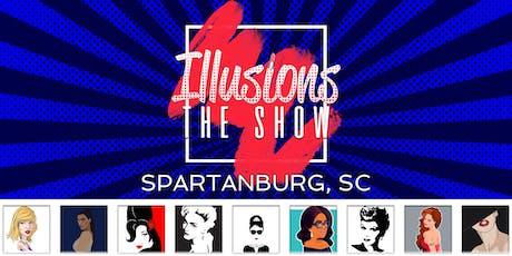 Illusions The Drag Queen Show Spartanburg, SC - Drag Queen Dinner Show - Spartanburg, SC tickets