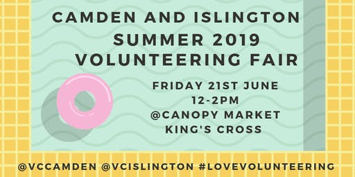 Camden and Islington June 2019 Volunteering Fair
