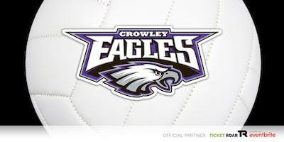 Crowley vs Burleson FR/JV/Varsity Volleyball