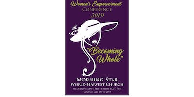 """Women's Empowerment Conference 2019 """"Becoming Whole"""""""