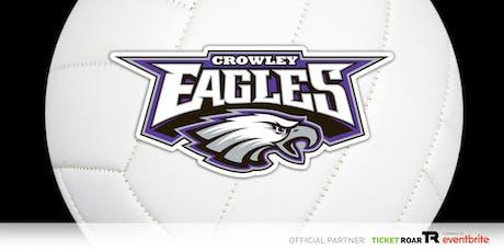 Crowley vs Everman FR/JV/Varsity Volleyball tickets