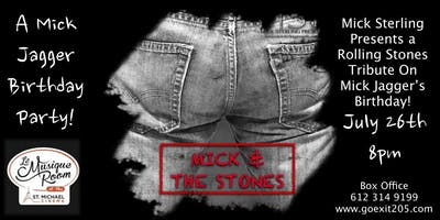 Mick and the Stones : a Rolling Stones tribute by Mick Sterling