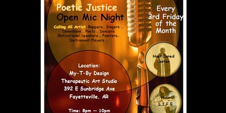 "Poetic Justice: ""Speak Your Jewel!"" Poetry & Paint Night tickets"