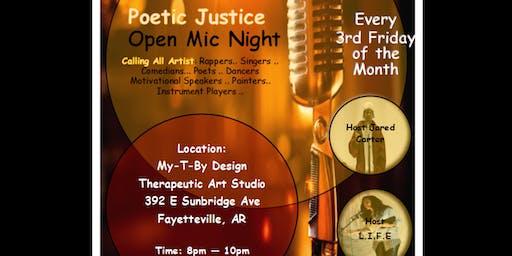 "Poetic Justice: ""Speak Your Jewel!"" Poetry & Paint Night"