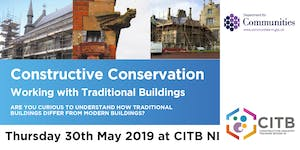 Constructive Conservation - Working with Traditional...
