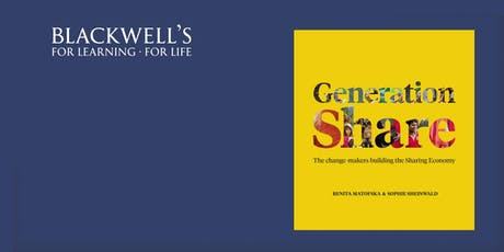 Generation Share Book Launch with Benita Matofska tickets