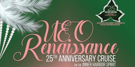 UEO Renaissance 25th Anniversary Cruise tickets