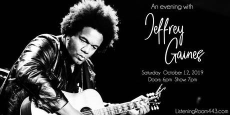 An Evening with Jeffrey Gaines tickets