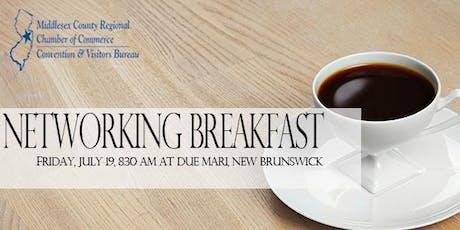 July Networking Breakfast tickets