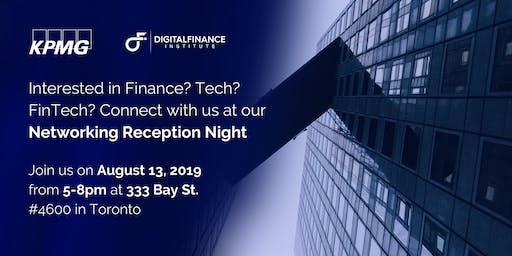 Networking Reception Night with KPMG (Finance, Tech, FinTech)