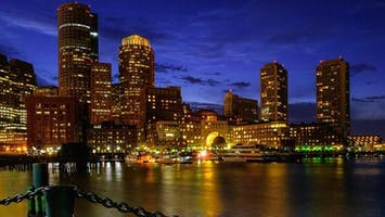 Full Moon Cruise of Boston Harbor