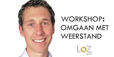 Workshop: Omgaan met Weerstand, trainer/coach Serge de Boer