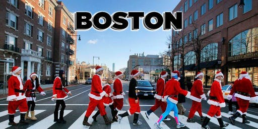 Boston Santa Crawl 2019 [Faneuil Hall]