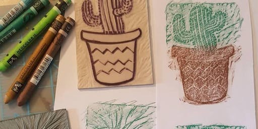 Lino Cut & Printing Workshop with Sarah Sharp