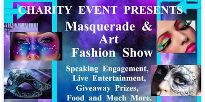 Masquerade & Art Fashion Show Celebration