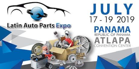 Latin Auto Parts Expo tickets