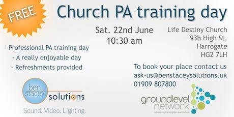 Free Church PA Training Day tickets