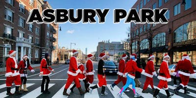Asbury Park SantaCon Crawl 2019