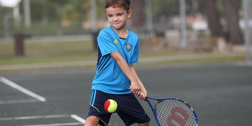 Beginners Tennis Lessons for Kids! (Ages 5-8)