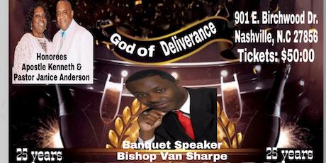 Apostle Kenneth Anderson Pastoral Anniversary Banquet tickets