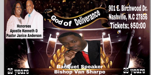 Apostle Kenneth Anderson Pastoral Anniversary Banquet
