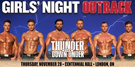 Australia's Thunder From Down Under tickets