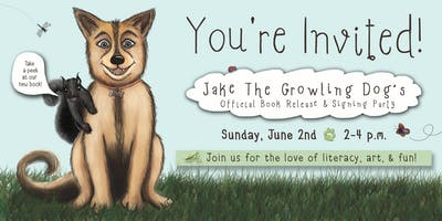 Jake the Growling Dog's Book Release & Signing Party