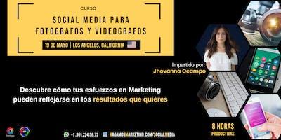 Social Media para fotógrafos y videógrafos