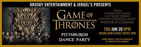 Game of Thrones Pittsburgh Party