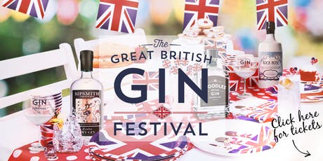 The Great British Gin Festival - Brighton tickets