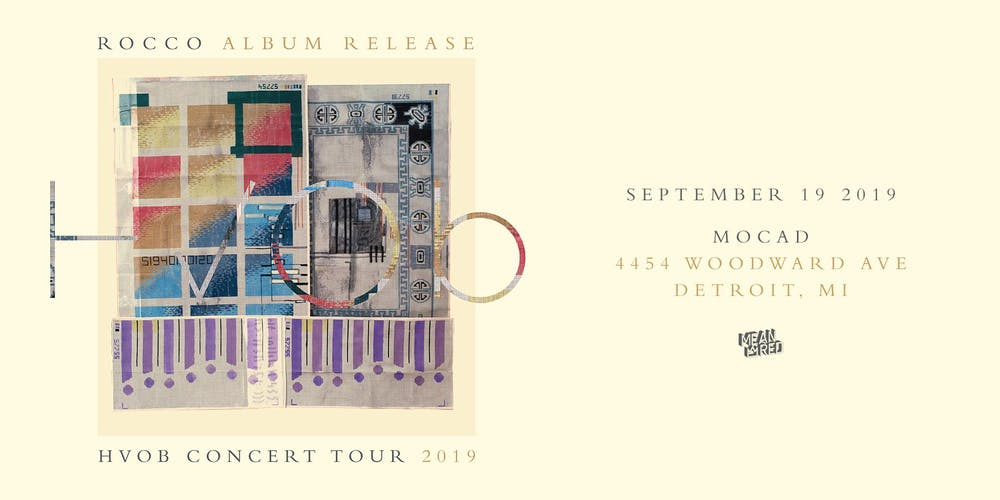 Hvob Concert Tour Rocco Tickets Thu Sep 19 2019 At 8 00 Pm