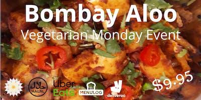 Vegetarian Bombay Aloo Monday Night Dinner Special