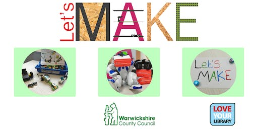 Let's Make Robotics at Nuneaton Library