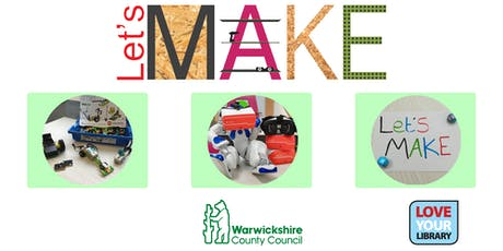 Let's Make Robotics at Rugby Library tickets