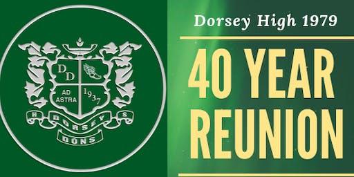DORSEY HIGH SCHOOL CLASS OF '79 40-YEAR REUNION