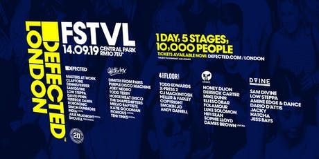 Defected London FSTVL 2019 tickets
