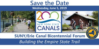 Building the Empire State Trail a SUNY/Erie Canal Bicentennial Forum